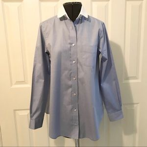 NWOT COACH Blue Oxford Shirt